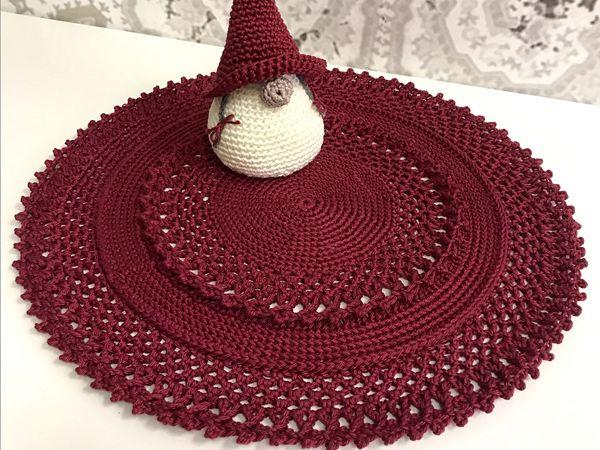 crochet December Mandala free pattern