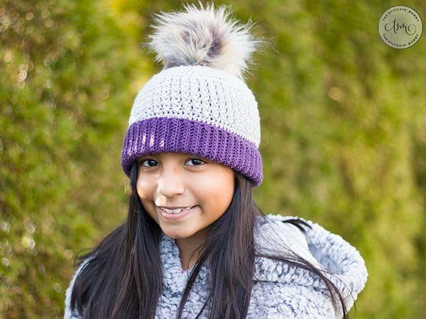 crochet Gracelynn Ribbed Hat free pattern