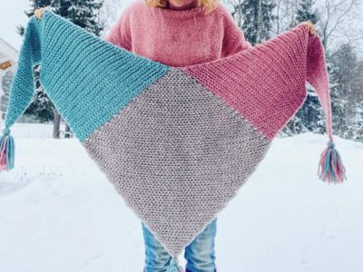 crochet Kaira Scarf easy pattern