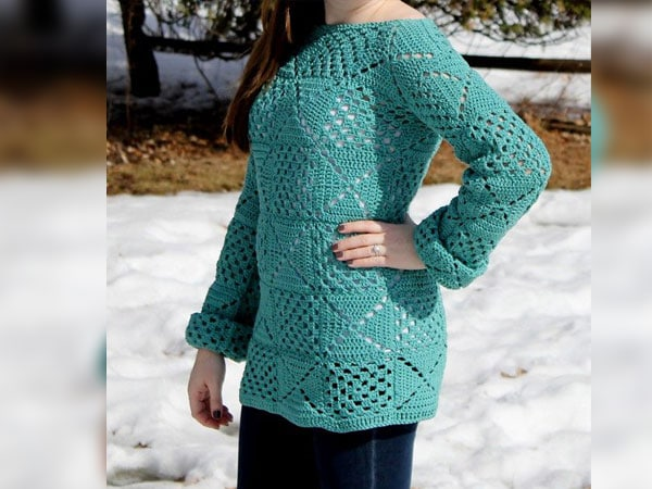 The Ginny Granny Square Tunic
