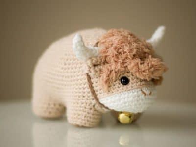 crochet Chinese New Year Ox free pattern