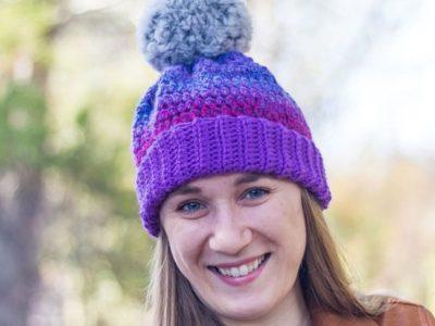 crochet Chroma Hat free pattern