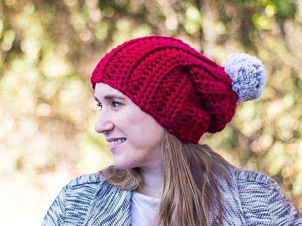 crochet Chunky Super Bulky Hat free pattern