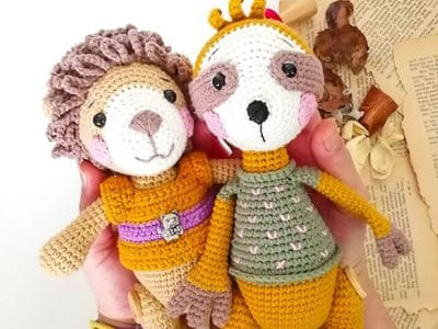 crochet Lion Benrooy Amigurumi free pattern