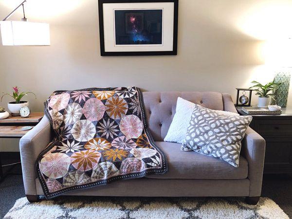 crochet Marguerite Blanket easy pattern