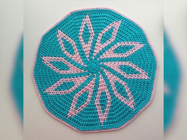 Patterned Trivet Potholder