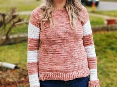 crochet Seventeenth Sweater free pattern