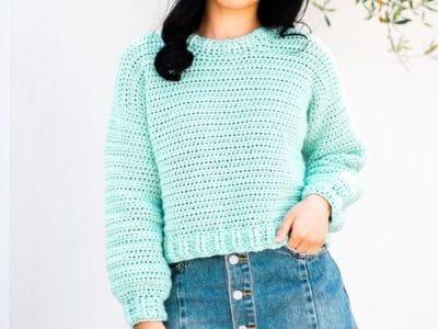 crochet Someday Sweater free pattern