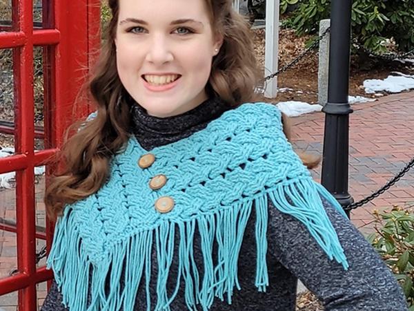 crochet Triple Braided Cowl free pattern