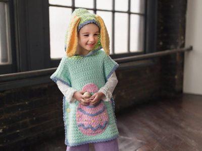 Crochet Bunny Poncho Pattern Boys And Girls