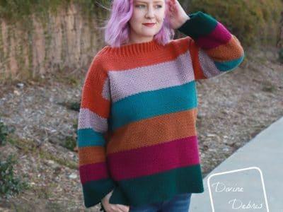 crochet Amelia Pullover free pattern