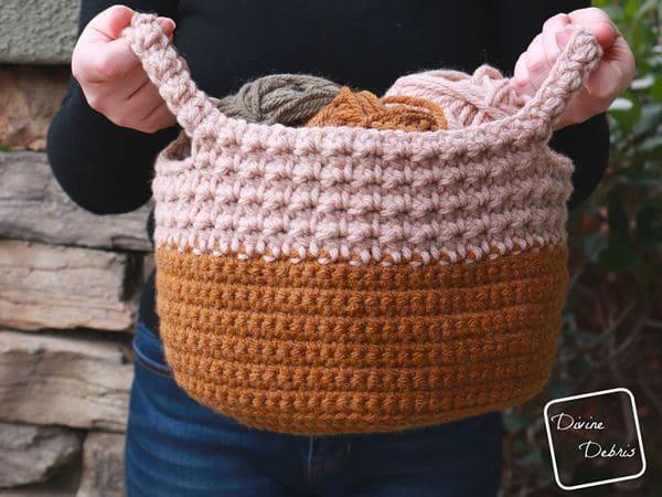 crochet Calista Basket free pattern