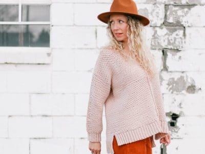 crochet Celestial Sweater free pattern