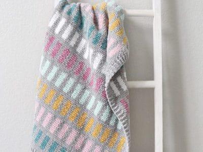 crochet Chandelier Baby Blanket free pattern