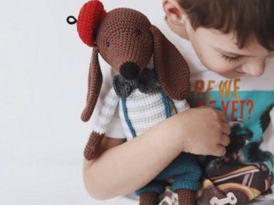 crochet Charli Dog easy pattern