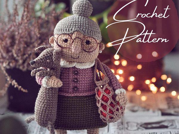 crochet Grandma Doll easy pattern