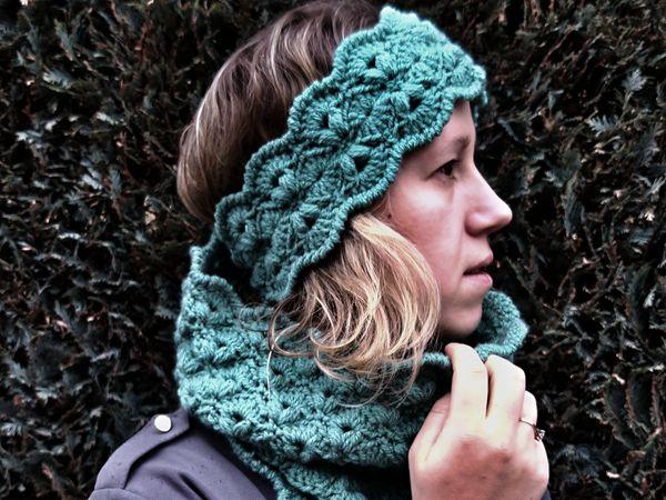 crochet Illuin Cowl free pattern