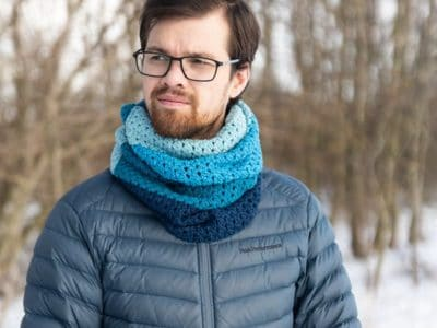 crochet Kevins Cowl free pattern