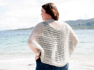 crochet Laxus Cocoon Cardigan free pattern