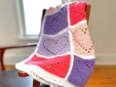 crochet Love You With All My Heart Blanket free pattern
