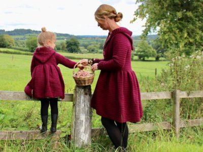 crochet Mama Me Magdalena Jacket easy pattern