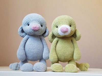 crochet Mouse Toy easy pattern