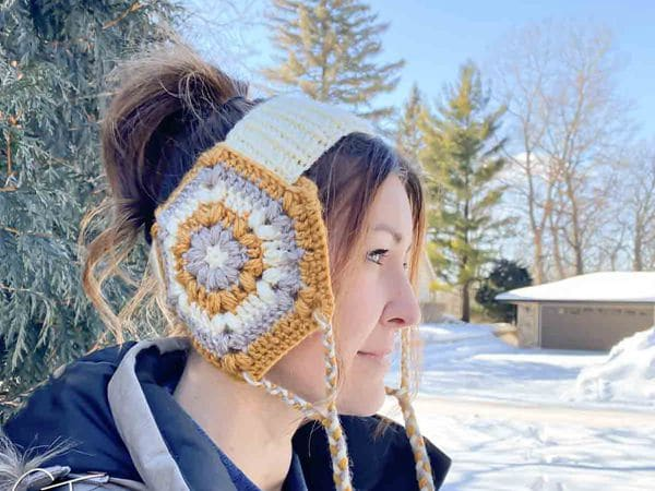 crochet Parker Head Warmer free pattern