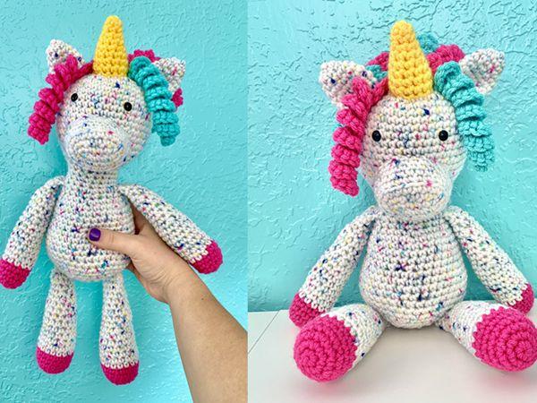 crochet Penelope the Unicorn free pattern