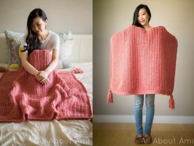 crochet Willow Blanket free pattern