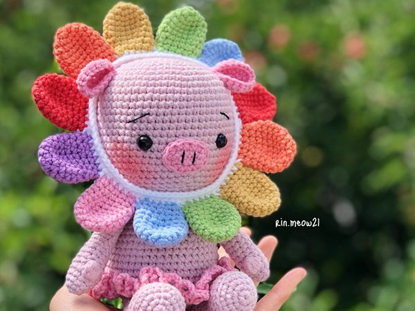 CROCHET Hana our Babi Piggy easy pattern