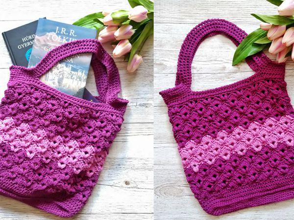 crochet Aliz Bag free pattern