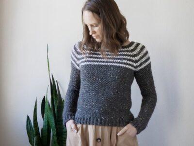 crochet Ash Pullover free pattern