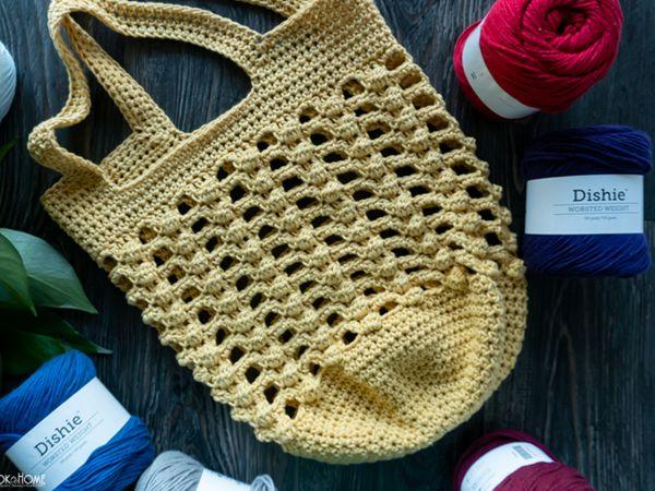 crochet Bobbles for Baubles Bag free pattern