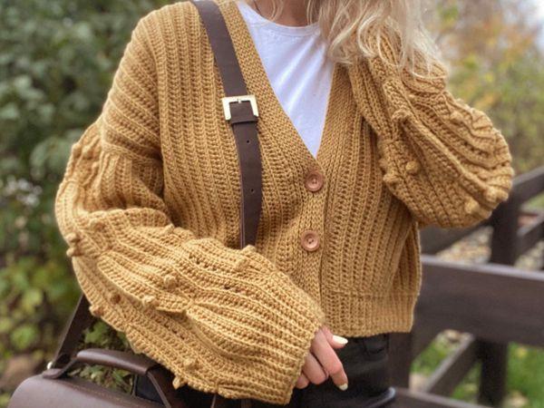 crochet Bonny Sweater easy pattern
