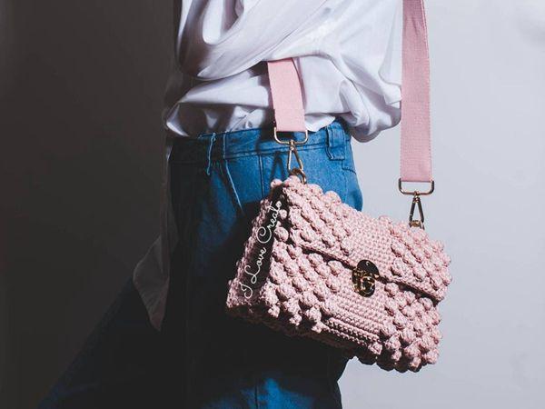 crochet Bubble BON BON bag easy pattern