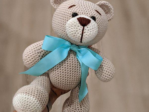 crochet Classic Teddy Bear free pattern