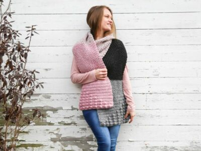 crochet Cora Scarf free pattern