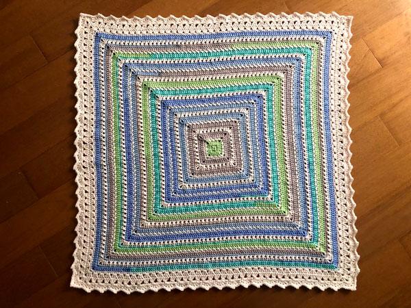 crochet Goodnight Kisses Baby Blanket free pattern
