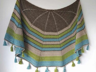 crochet Half Circle Shawl free patterns