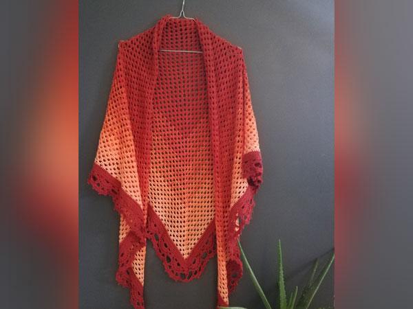 crochet Le Millas shawl free pattern