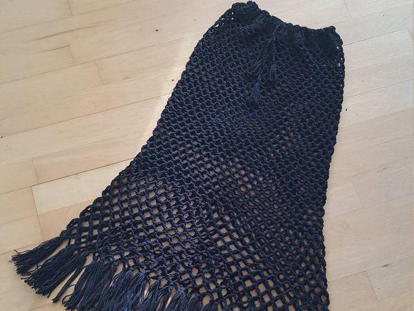 crochet Mesh Skirt easy pattern