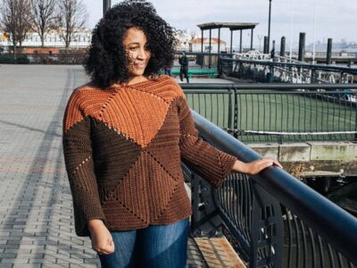 crochet Salt Lake Sweater free pattern