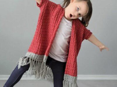 crochet Stevee Cardigan free pattern