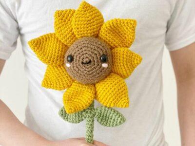 crochet Sunny Sunflower easy pattern