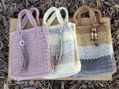 crochet The Claire Tote Bag free pattern