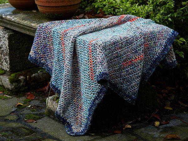 crochet The Stashbuster Blanket free pattern