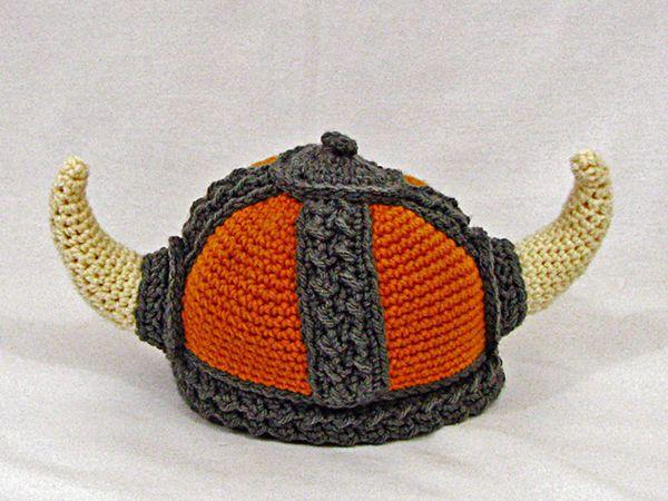 crochet Viking Hat easy pattern
