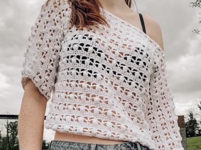 crochet Azalea Crop Top free pattern