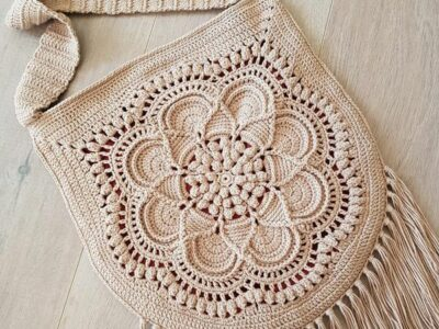 crochet Delilah Boho Bag easy pattern
