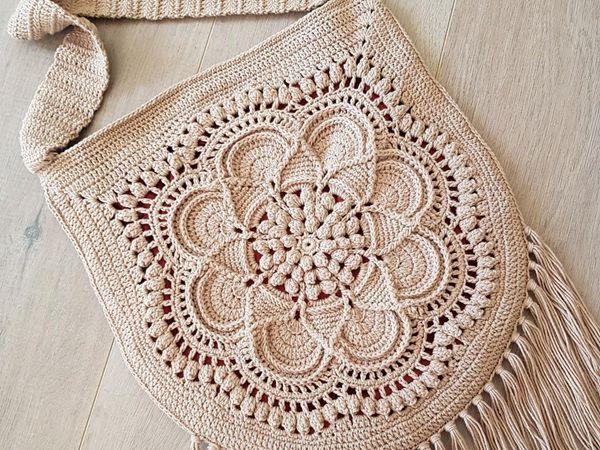 crochet Delilah Boho Bag easy pattern